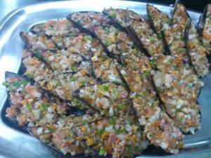 conchas de marisco
