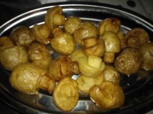 patatas champiñon